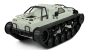 Mobile Preview: KETTEN-DRIFT-FAHRZEUG MILITARY POLICE 1:12 WEISS RTR