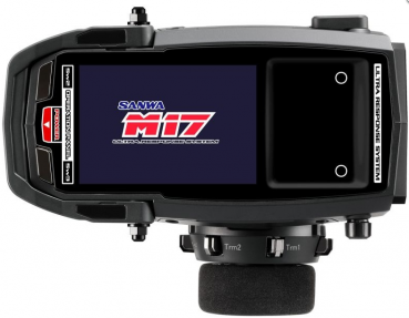 M17 - RX-491 / ohne Servos/ TX/RX Farb-Touch-DisplaySANWA SURFACE CH4 2.4GHz FH5 Ultra Response Mode