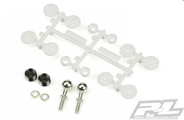 PRO-MT 4X4 REPLACEMENT PIVOT BALL HARDWARE AND SHOCK PISTONS PRO-LINE