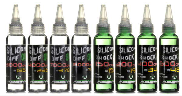 Silikon Differential Öl 200.000CPS 60ml
