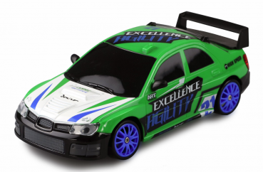 DRIFT SPORT CAR 1:24 GRÜN, 4WD 2,4 GHZ RTR