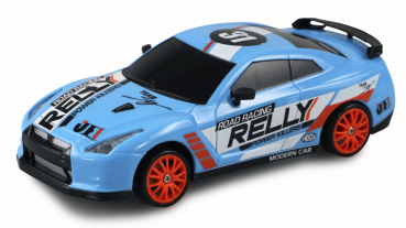 DRIFT SPORT CAR 1:24 BLAU, 4WD 2,4 GHZ RTR