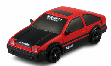 DRIFT SPORT CAR 1:24 ROT, 4WD 2,4 GHZ RTR